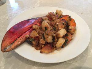lobster leftovers
