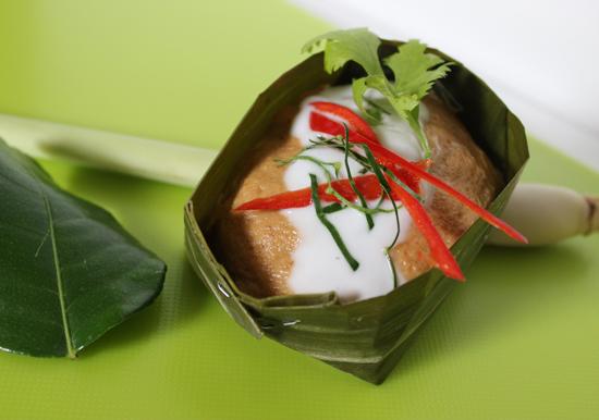 Haw Mok Pla Fish Curry ห่อหมก